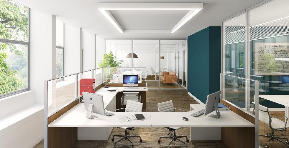 办公室装修设计之简约型办公室设计风格